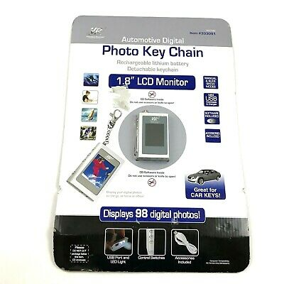 Automotive Digital Photo Key Chain with 1.8'' LCD Monitor