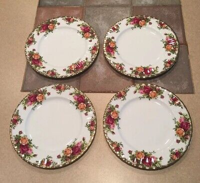 Royal Albert Old Country Roses Salad Plates X4