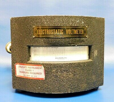 Sensitive Research Instrument Corp ESH-26 Electrostatic Voltmeter Untested