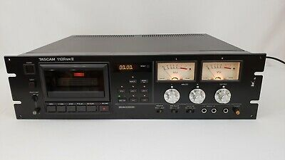 Tascam 112R MKII Rack Mount Professional Cassette Tape Recorder Player