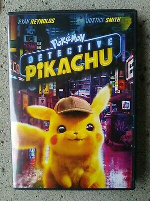 Pokemon: Detective Pikachu with Bonus Disc (DVD, 2019)