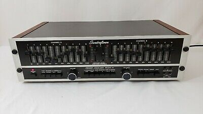 Vintage Soundcraftsmen Pre Amplifier /10 Band Equalizer PE2217-R Tested, Working