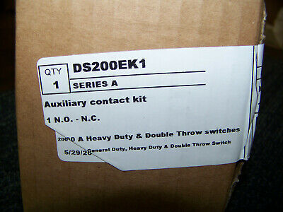 Eaton Auxiliary Contact Kit DS200EK1 New