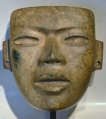Pre Columbian Teotihuacan Jade Mask Documented