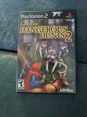 Playstation 2- Cabela's Dangerous Hunts 2