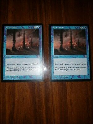 EVACUATION Stronghold MTG Magic the Gathering - Rare NM