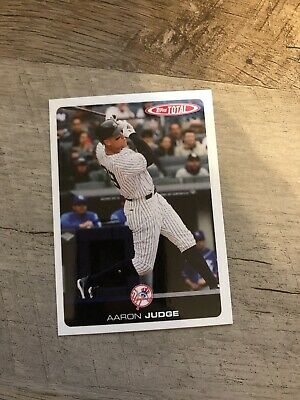 2019 TOPPS TOTAL WAVE 2 AARON JUDGE #101 New York Yankees