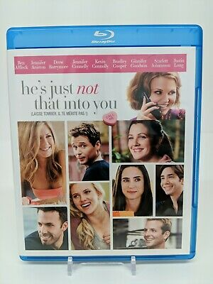 Hes Just Not That Into You (Blu-ray Disc, 2009, Canadian) Bilingual Bluray