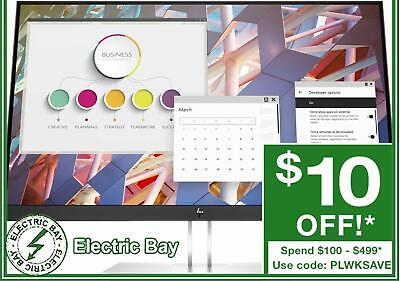 "HP EliteDisplay P244 23.8"" 24"" FHD LCD LED Computer Monitor 16:9 HDMI VESA IPS"