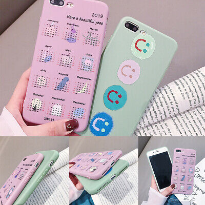 Fashion Smile Pattern Shockproof Ultrathin Nonslip TPU Phone Case For iPhone Lot