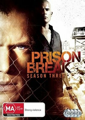 Prison Break : Season Three - Eposides 1-13 - Wentworth Miller - DVD