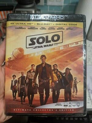Solo A Star Wars Story (Blu-ray + 4K UHD) BRAND NEW!!