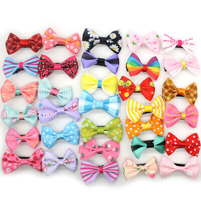 10Pcs Mini Bow Hairpins Duckbill Barrette Kids Baby Girl Cute Headwear Hair Clip
