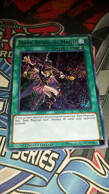 Dark Burning Magic - LDK2-ENS05 - Secret Rare - Limited Edition LP Yugioh