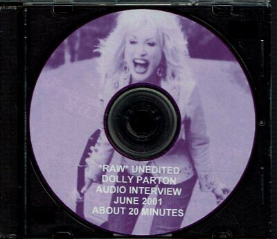 Dolly Parton - Unedited Audio Interview June 2001 Country Music Hall of Fame