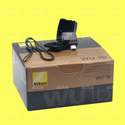 Genuine Nikon WU-1b Wi-Fi Wireless Mobile Adapter D610 D600 Nikon 1 J3 1 S1 1 V2