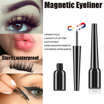 Smudge proof Magnetic Eyelashes Magnetic Eyeliner No Glue Needed Waterproof