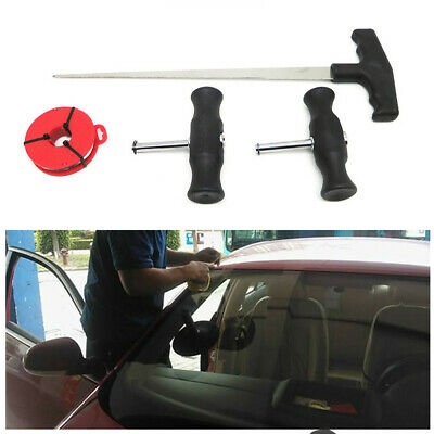 4pcs Professional Windshield Removal Set Automotive Wind Glass Remover Hand Tool