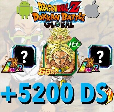 🐉Dokkan Battle🐉 - GLOBAL - 3 LR + 4850 DS ⭐️(Android / iOS)