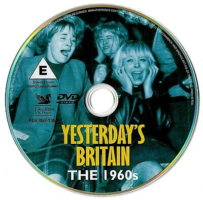 Yesterday's Britain - The 1960's DVD Documentary Sixties