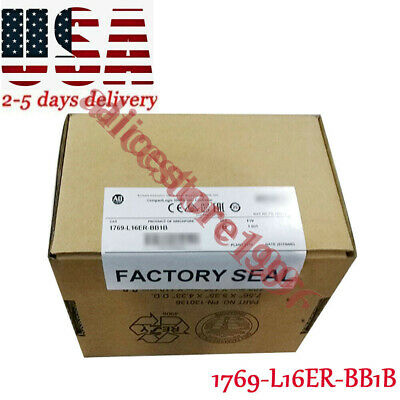 2019 NEW Allen Bradley 1769-L16ER-BB1B CompactLogix 384KB Processor QTY Tool USA