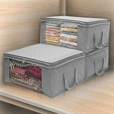Folding Storage Box Quilt Storage Bag Wardrobe Clothing Storage Box Dustproof