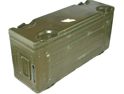 German Army NATO Case Metal crate military Aluminum box 4x4 IP 65 60x20x28cm