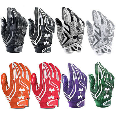 NEW Mens Under Armour Swarm Receiver Football Gloves - Select Size and Color!