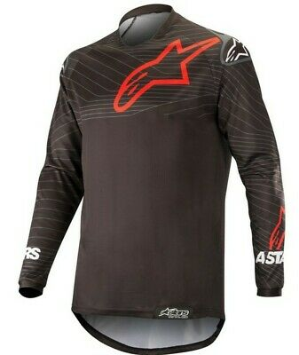 Alpinestars Venture R Enduro Offroad Motocross MX Race Jersey Black Red Adults