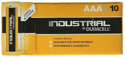 Duracell Industrial AAA | Box of 10 Batteries AAA Size Pack of 10