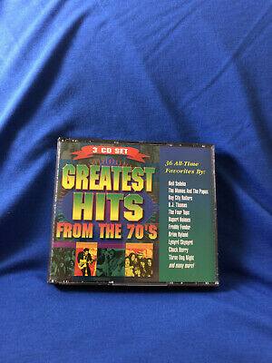 Greatest Hits from the 70's (3 CD Set) 36 All Time Favorites