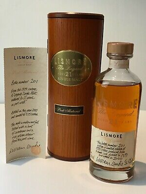 WHISKY LISMORE 1979 THE LEGEND 21 YEARS OLD PORT MATURED ISLAY SINGLE MALT 70cl.