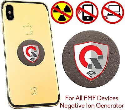QUANTHOR 360 Round EMF Protection Tesla Technology: EMF Absorption From CELL ...