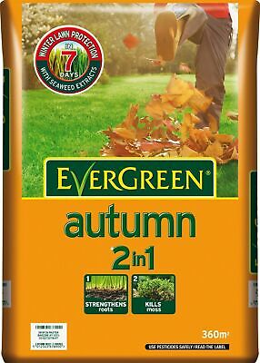Scotts Miracle-Gro Evergreen Autumn 360 sq m Lawn Food Bag 1 —