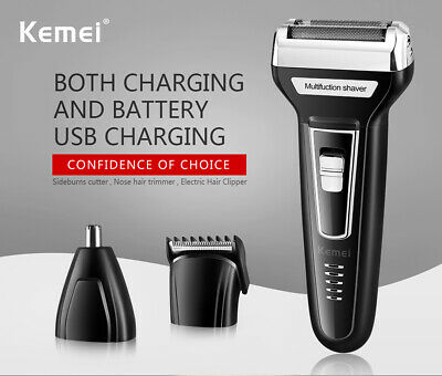 Hair Cutting Kit Machine Clipper Trimmer Professional Cordless Shaver Barber Set