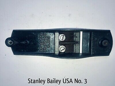 BAILEY STANLEY No 3 Wood Working Plane BASE Sole Part Smooth Bottom Tool