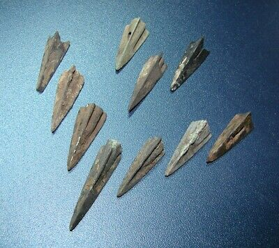Scythian Vikings arrowheads 7 - 2 nd century BC bronze. RARE. ORIGINAL 7(y)