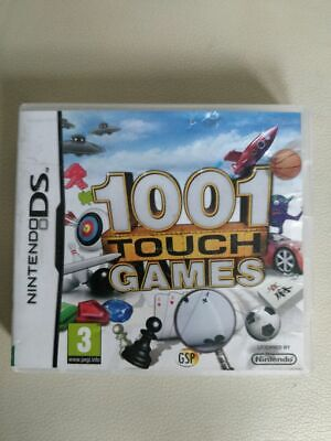 1001 Touch Games - Nintendo Ds - Free Uk Postage