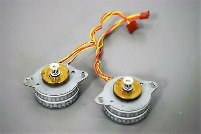 Lot of 2 Sonceboz 6161 R.148 Electric Stepper Motors w/Gearheads Warranty