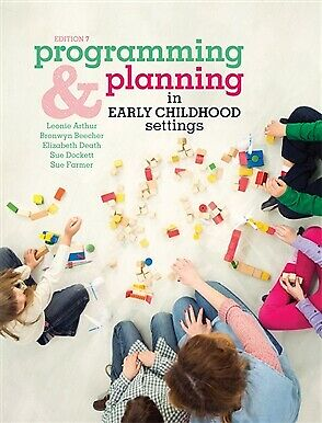 NEW Programming and Planning in Early Childhood Settings with Online Study Tools