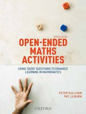 NEW Open Ended Maths Activities Revised Edition By Peter Sullivan Paperback