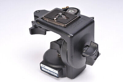 Manfrotto 128RC Micro Fluid Video Head With Quick Release Plate - No Pan Bar
