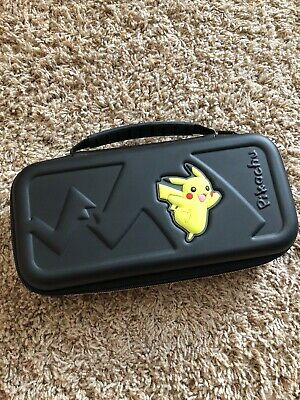 R.D.S. Officially Licensed Nintendo Switch Pokémon Pikachu Game Travel Case