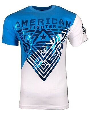 AMERICAN FIGHTER Mens T-Shirt MAYVILLE  Athletic Training Biker MMA Gym UFC38$40