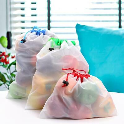 Reusable Mesh Produce Bag Grocery Fruit Vegetable Storage Friendly Shopping Bag