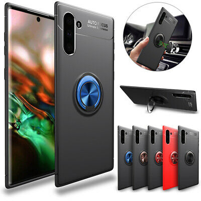 For Samsung Galaxy Note 10 Plus /Note 10 Slim Hybrid Ring Stand Phone Case Cover