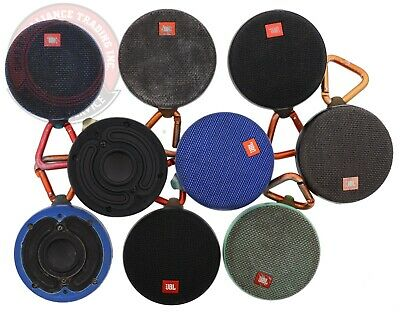 LOT OF 9 JBL CLIP 2  Waterproof Bluetooth Portable Speakers For Parts☝