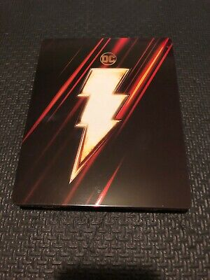Shazam Best Buy Steelbook ( 4k UHD + Blu-ray, No Digital)