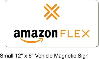 Amazon Flex Magnetic Car & Truck Signs Small, Medium, and Large Sizes Available