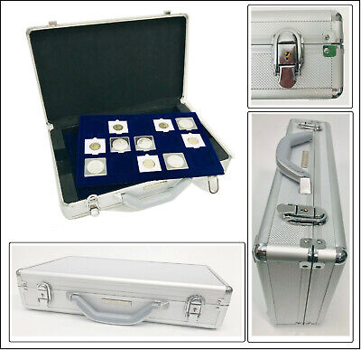 Lighthouse 343225 Coin Case Cargo L 6 with 6 Tableaux for 90 Quadrum Capsules